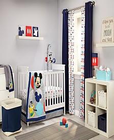 Disney Mickey Mouse 4-Piece Crib Bedding Set