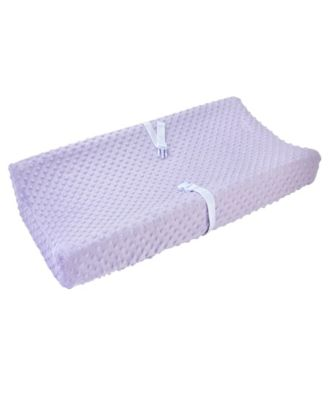 Carter's Plush Velboa Bubble Dot Changing Pad Cover