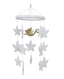 Little Mermaid Starfish Ceiling Mobile