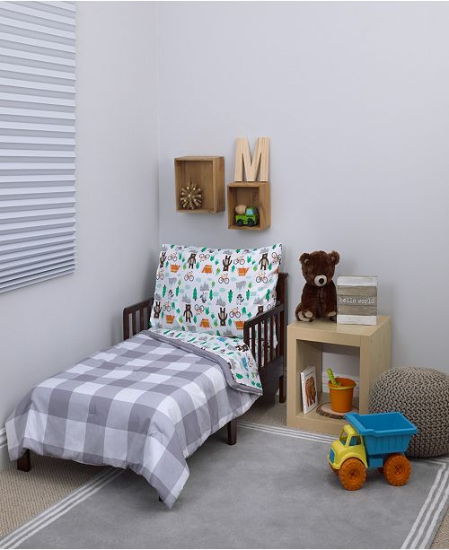 Carter's Woodland 4-Piece Toddler Bedding Set