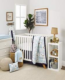 Little Explorer 8-Piece Crib Bedding Set
