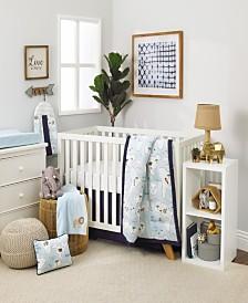 Nojo Little Explorer 8-Piece Crib Bedding Set