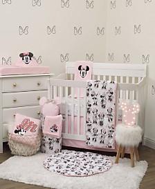 Disney Minnie Mouse 6-Piece Crib Bedding Set