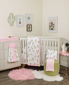 Cactus Cool 8-Piece Crib Bedding Set