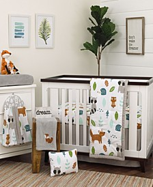 Woodland Friends 8-Piece Crib Bedding Set