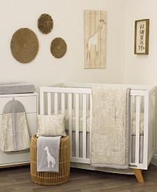 Nojo Modern Safari 8-Piece Crib Bedding Set