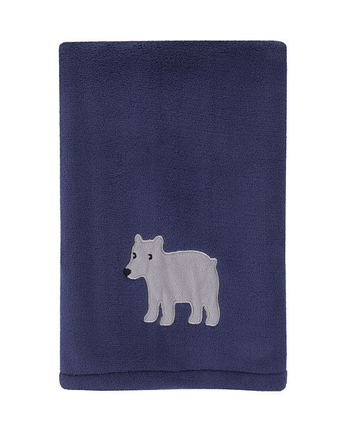 Carter's Explore Baby Bear Plush Blanket with Applique