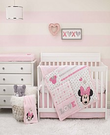 Minnie Mouse Love to Love 3-Piece Crib Bedding Set