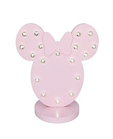 Minnie Mouse Marquee Light