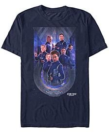 Men's Discovery U.S.S. Discovery Starfleet Poster Short Sleeve T-Shirt