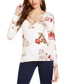 GUESS Floral-Print Top