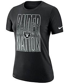 Women's Oakland Raiders Dri-FIT Local T-Shirt