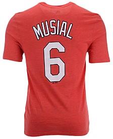 Majestic Men's Stan Musial St. Louis Cardinals Classic Coop Player T-Shirt