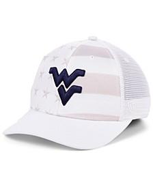 West Virginia Mountaineers Sub Flag Trucker Cap