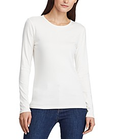 Petite Stretch Long-Sleeve T-Shirt