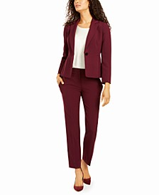 One-Button Pant Suit