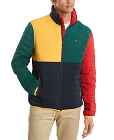 Tommy Hilfiger Men's Colorblocked Insulator Jacket, Created For Macy's