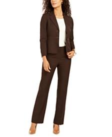 Le Suit Petite Two-Button Pant Suit