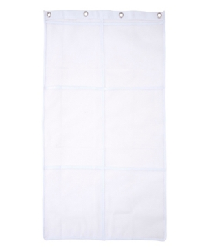 Kenney 6-Pocket Hanging Mesh Shower Organization Caddy Bedding