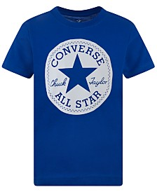 Converse Big Boys Chuck Patch Logo T-Shirt
