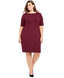 Alfani Plus Size Sheath Dress, Created For Macy's