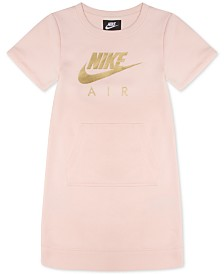 Nike Little Girl Logo-Print T-Shirt Dress