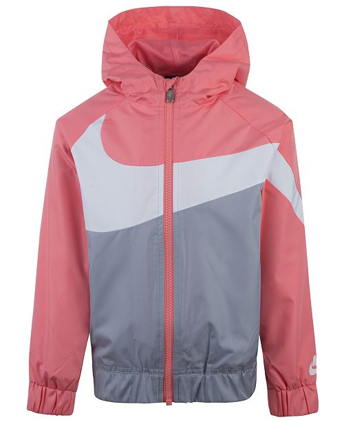 Nike Windrunner Jacket, Little Girls & Reviews Coats