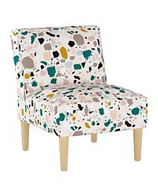 Rhylin Armless Chair, Quick Ship