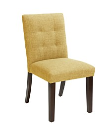 Dario Tufted Dining Chair, Quick Ship