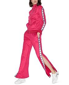 Armani Exchange Logo Snap Track Pants