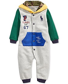 Baby Boys Hooded Terry Coverall