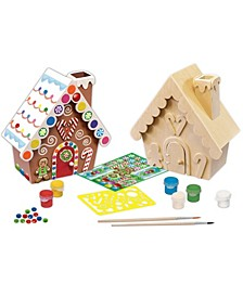Masterpieces, Inc. Works Of Ahhh. Wood Painting Kit - Gingerbread House