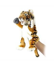 Hansa Tiger Hand Puppet Plush Toy
