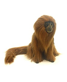 "Hansa 12"" Golden Lion Tamarn Plush Toy"