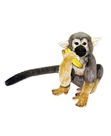 "11"" Squirrel Monkey Plush Toy"