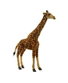 "Hansa 27.5"" Giraffe Plush Toy"