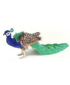 "10"" Peacock Plush Toy"