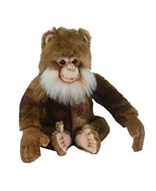 """Salem 7"""" Monkey Plush Toy"""