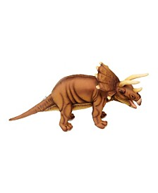 "Hansa Triceratops 17"" Dinosaur Plush Toy"