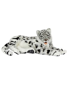 Snow Leopard Laying Plush Toy