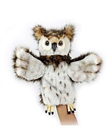 Owl Hand Puppet Plush Toy