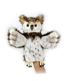 Hansa Owl Hand Puppet Plush Toy