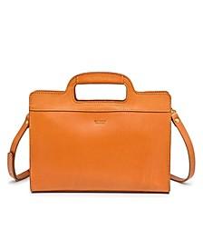 Sleek Creek Leather Crossbody Bag