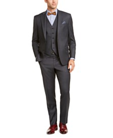 Lauren Ralph Lauren Men's Classic-Fit UltraFlex Stretch Gray Vested Suit Separates
