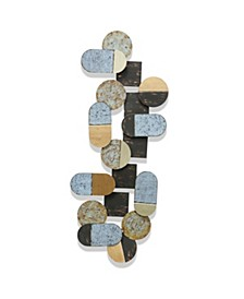 Multi Colored Abstract Metal Art