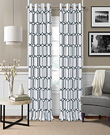 "Kaiden Blackout Linen 52"" x 95"" Window Panel"