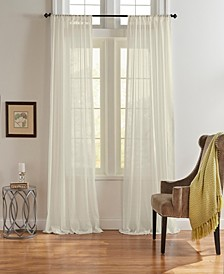 Asher Cotton Voile Sheer Window Curtain Collection