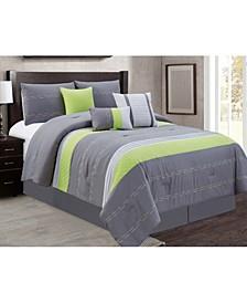 Hunnicutt 7 Piece Comforter Set, King