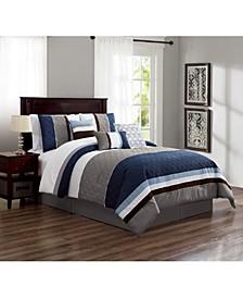 Skiles 7 Piece Comforter Set, Queen