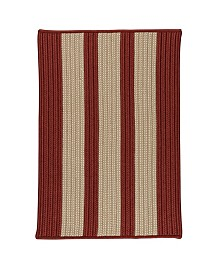 Colonial Mills Boat House Rust Red 2' x 4' Accent Rug